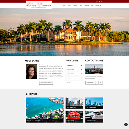 Diane Freeman Real Estate Website