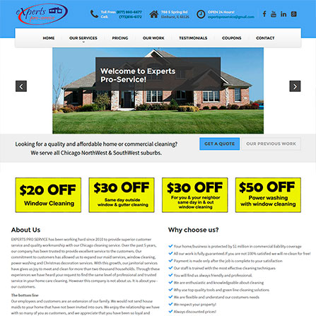 Experts Pro Service Website