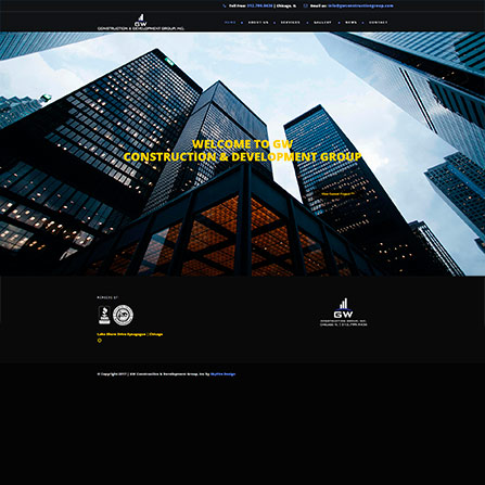 GW Construction Group Website