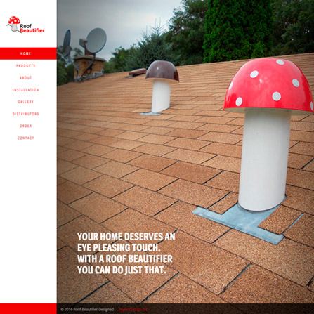 Roof Beautifier Website