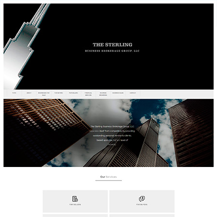 The Sterling Business Brokerage Group Website