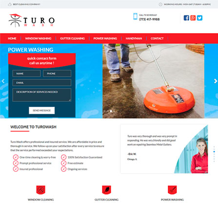 Turo Wash Website